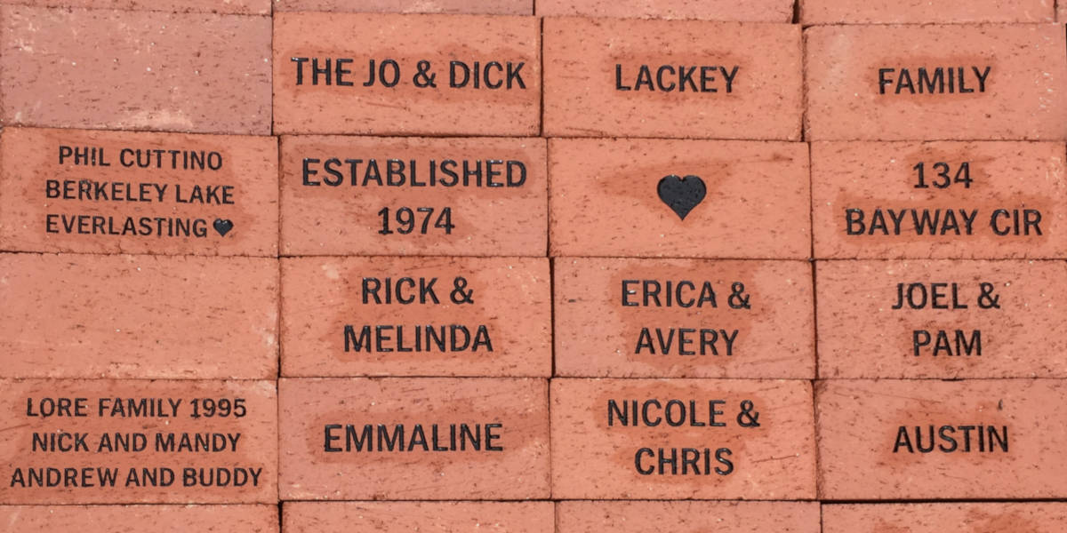 Chapel Renovation Brick Fundraiser